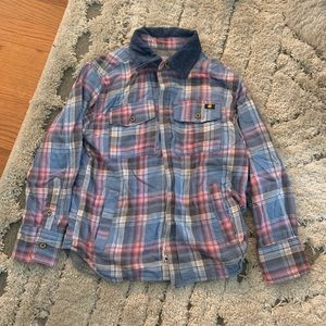 Lucky brand lined button down